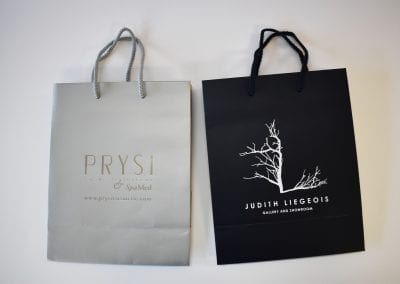silver-foil-white-ink-shopping-bags