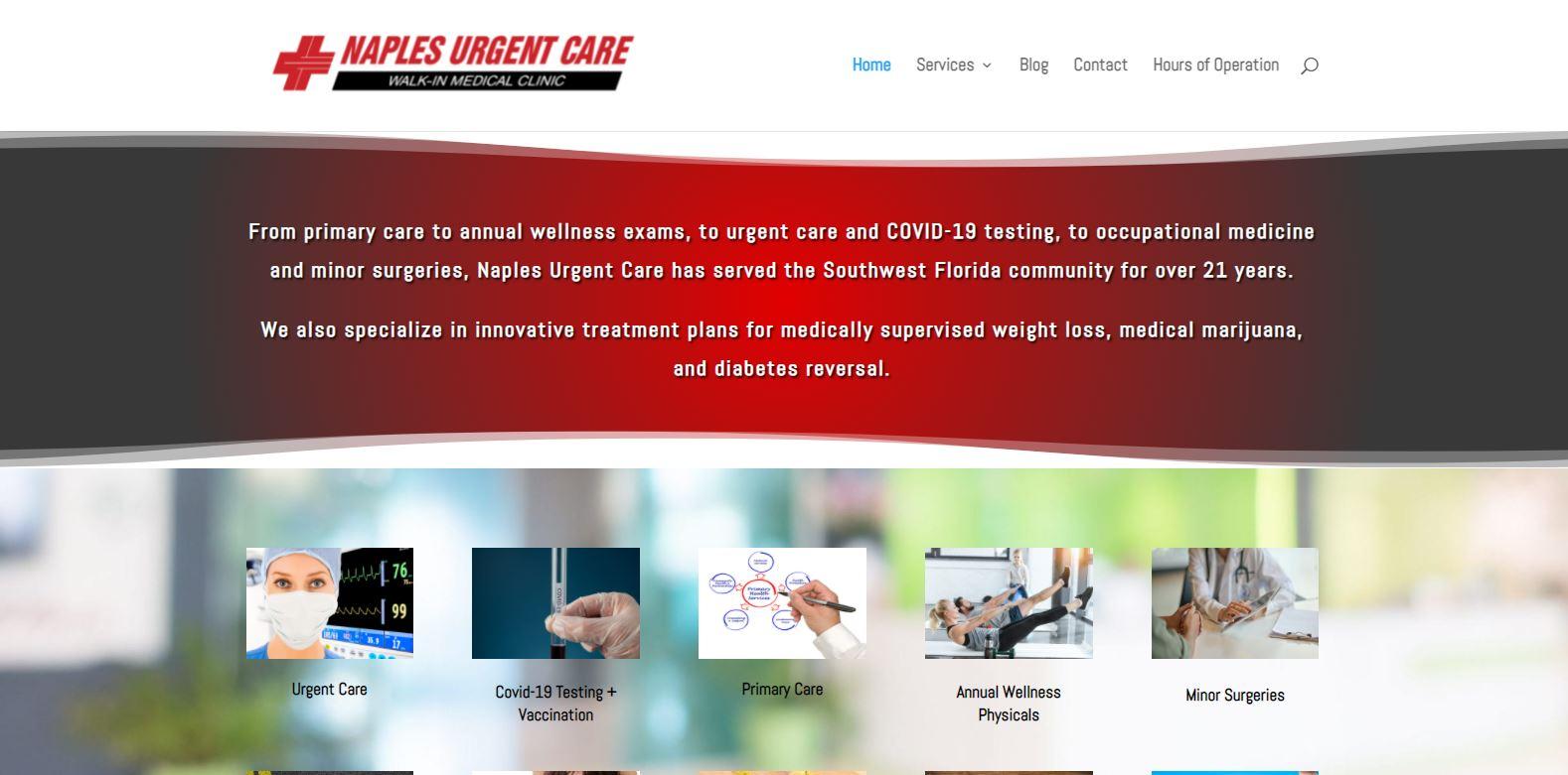 Naples-Urgent-Care-Home-Page